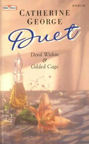 book cover of Devil Within / Gilded Cage