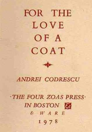 book cover of For The Love Of A Coat