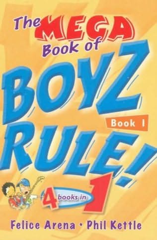 book cover of The Mega Book of Boyz Rule!