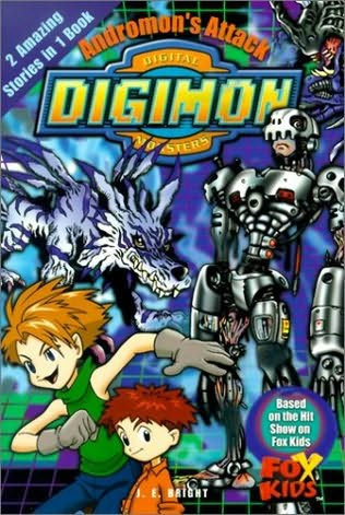 book cover of Andromon\'s Attack