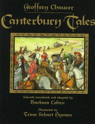 book cover of Canterbury Tales