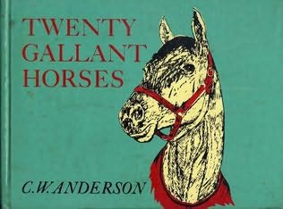 book cover of Twenty Gallant Horses