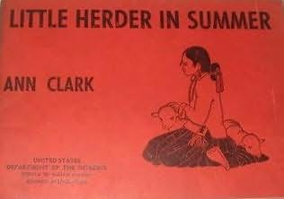 book cover of Little Herder in Summer