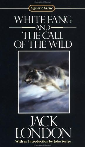 White Fang Book Cover : White fang call of the wild by jack london