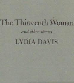 book cover of The Thirteenth Woman and Other Stories