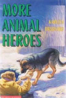 book cover of More Animal Heroes