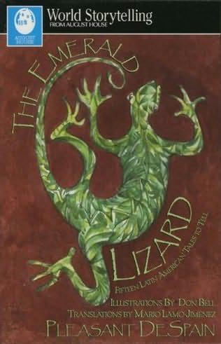 book cover of The Emerald Lizard
