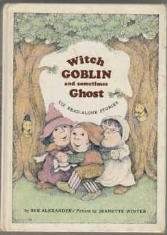 book cover of Witch, Goblin, and Sometimes Ghost