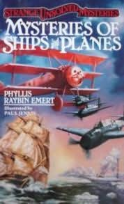 book cover of Mysteries of Ships and Planes