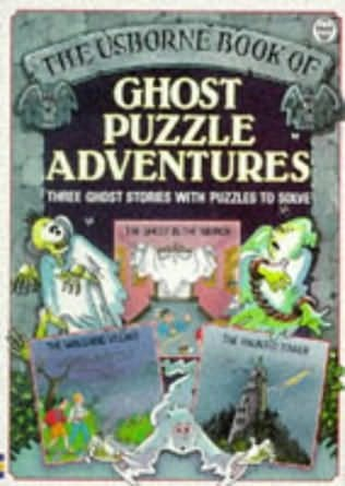 book cover of Ghost Puzzle Adventures