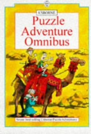 book cover of Puzzle Adventure Omnibus: No. 1-7