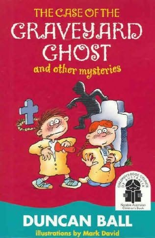 book cover of The Case of the Graveyard Ghost and Other Mysteries