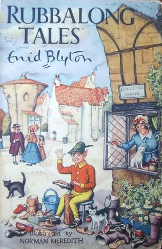 book cover of Rubbalong Tales
