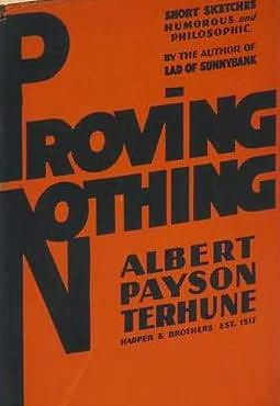 book cover of Proving Nothing