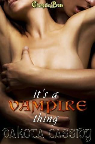 book cover of It\'s a Vampire Thing
