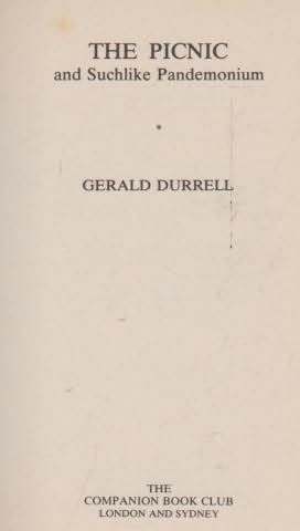 book cover of The Picnic