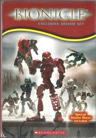 book cover of Bionicle Boxed Set