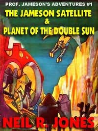 book cover of Jameson Satellite / Planet of the Double Sun
