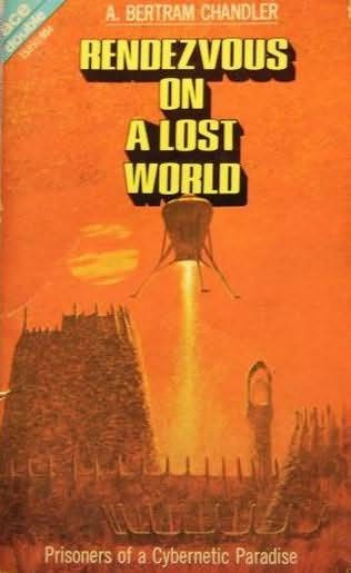 book cover of The Door Through Space / Rendezvous on a Lost World