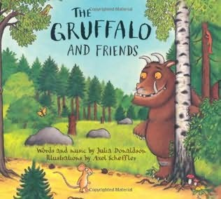 book cover of The Gruffalo and Friends