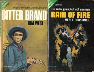 book cover of Bitter Brand / Rain of Fire