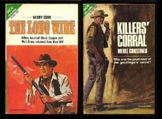 book cover of The Long Wire / Killers\' Corral