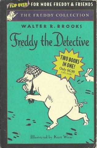 book cover of Freddy the Detective / Freddy Goes to Florida