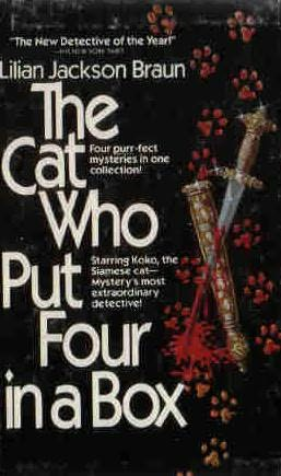 book cover of The Cat Who Put Four in a Box