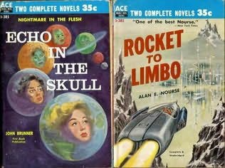 book cover of Rocket to Limbo / Echo in the Skull