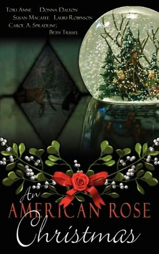 book cover of An American Rose Christmas