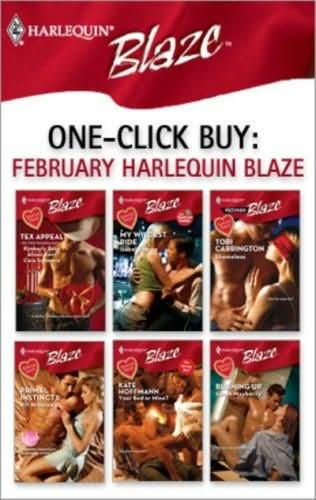 book cover of One-Click Buy: February Harlequin Blaze