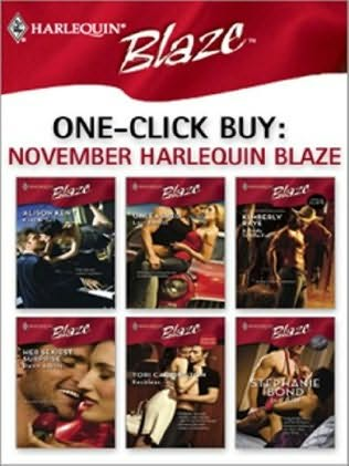 book cover of One-Click Buy: November Harlequin Blaze