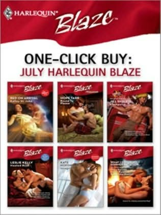 book cover of One-Click Buy: July Harlequin Blaze