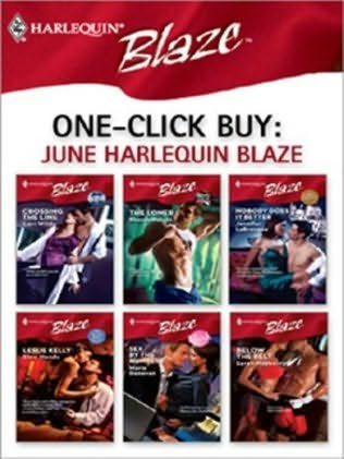 book cover of One-Click Buy: June Harlequin Blaze