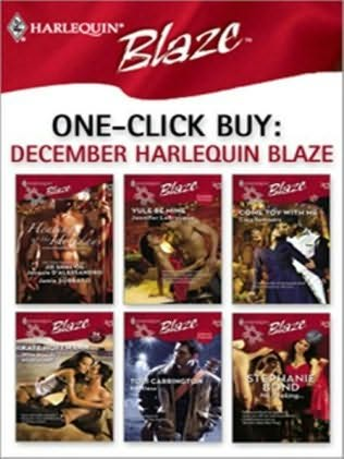 book cover of One-Click Buy: December Harlequin Blaze