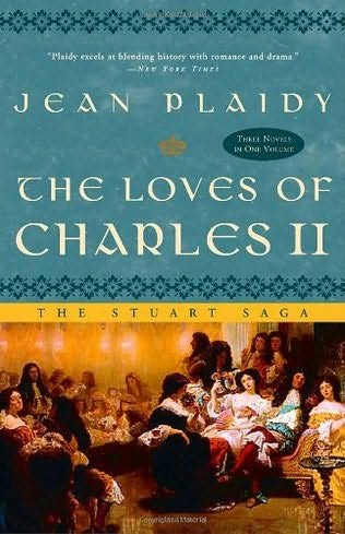 book cover of The Loves of Charles II