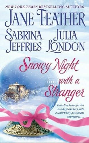 book cover of Snowy Night with a Stranger