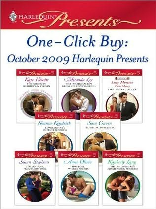 book cover of One-Click Buy: October 2009 Harlequin Presents