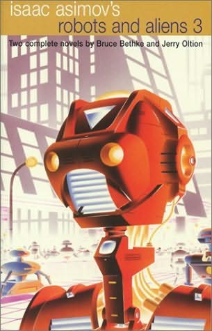 book cover of Isaac Asimov\'s Robots and Aliens