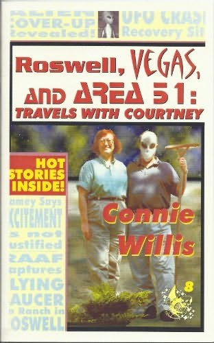 book cover of Roswell, vegas, and Area 51