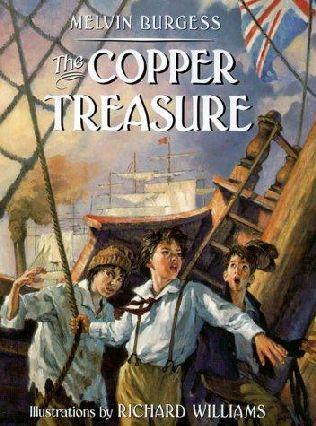 book cover of The Copper Treasure