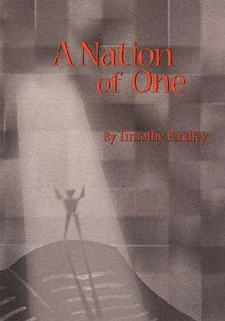 book cover of A Nation of One