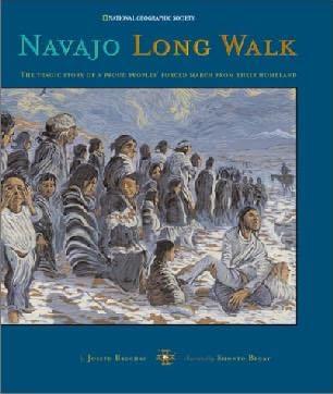 book cover of Navajo Long Walk