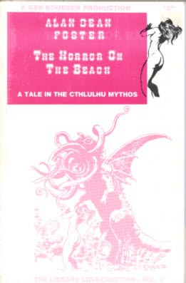 book cover of The Horror on the Beach