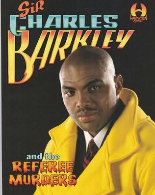 book cover of Sir Charles Barkley and the Referee Murders