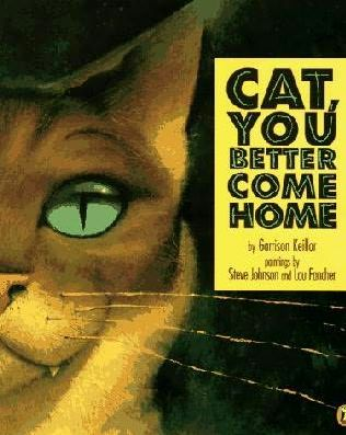 Cat you better come home book