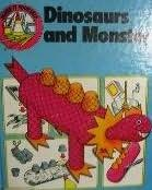 book cover of Dinosaurs and Monsters