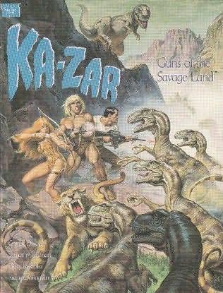 book cover of Ka-zar: Guns of the Savage Land