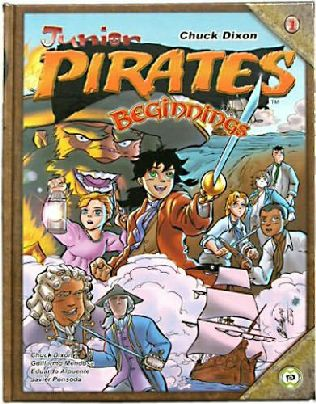 book cover of Junior Pirates: Beginnings