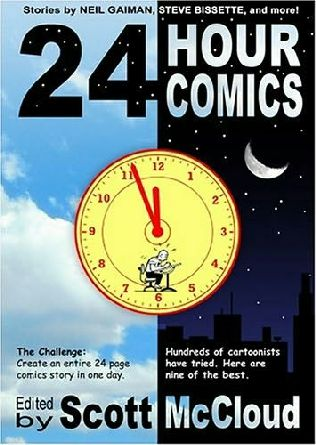 book cover of 24 Hour Comics